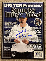 BILL O'BRIEN Signed 2013 Sports Illustrated Beckett BAS Z45128 Penn State Lions