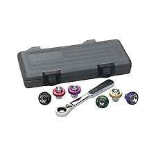 Magnetic Oil Drain Plug Socket Set 7pc. #3870