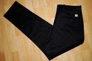 NEU  CLOSED   Baumwoll   Stretch  Hose  Chino  W33/30  dark night