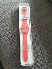 Games Maker's, London 2012 Olympic Games SWATCH WATCH - boxed- RARE ITEM !
