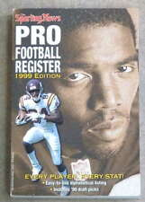 THE SPORTING NEWS TSN NFL FOOTBALL REGISTER - 1999