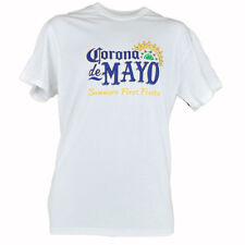 Corona De Mayo Summer's Premier Fête Authentique Delta Hommes Graphic Tee Neuf M