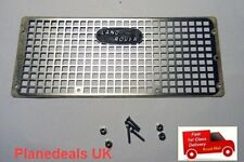 Land Rover Metal front grill 1/10 Rc   Rock Crawler D90 D110  J4