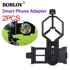 2PCS BOBLOV Mobile Phone Mount Adapter For Telescope Microscope Spotting Scope