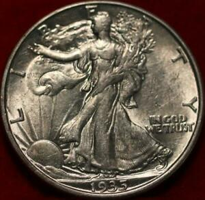 1935-D Denver Mint Silver Walking Liberty Half