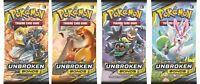 UNBROKEN BONDS BOOSTER PACKS - SM10 - Pokemon TCG - FAST DOMESTIC SHIPPING