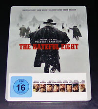 THE HATEFUL 8 QUENTIN TARANTINO LIMITIERTE STEELBOOK EDITION BLU RAY NEU & OVP