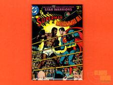 "Superman vs. Muhammad Ali cover  2x3"" fridge/locker magnet DC comics"