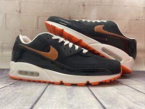 Nike Air Max 90 Football Edition Black Orange Shoes DJ5981-001 Men's Size 13 NEW