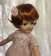 Doll Wig Auburn Red Color Size 9 , Thick, High Quality Mary Hoyer 14� Doll Size