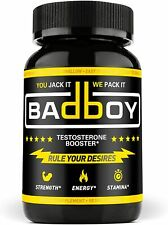 Bad Boy Testosterone Booster for Men Muscle Growth - Male Enhancing Pills 90ct