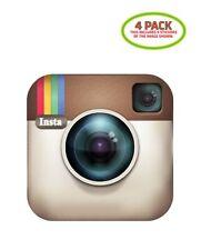 Instagram Camera Sticker Vinyl Decal 4 Pack
