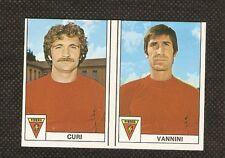 Figurina Calciatori Edis 1977-78! N.281-282! Curi/Vannini! Perugia! Nuova!!