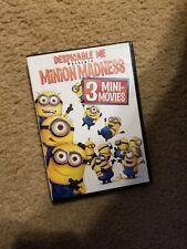 Despicable Me Presents Minion Madness DVD