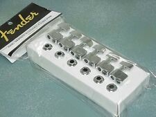 GENUINE FENDER SCHALLER American Guitar Machine Head Tuners Strat Tele f USA