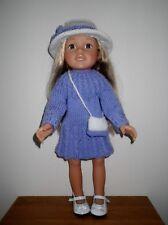 Hand Knitted Muñecas Ropa para American Girl/muñeca o muñeca similar