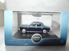 Oxford 76P4002 P4002 1/76 OO Scale  Rover P4 Steel Blue & Light Navy
