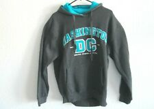 I Love Wasington DC United States Capital mens size large sweater hoodie gray