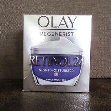 OLAY REGENERIST Retinol 24 Night Moisturizer 1.7oz NEW & UNOPENED, Retails $39
