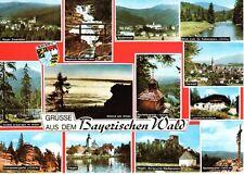AK Ansichtskarte Grüße aus dem Bayrischen Wald - 1976