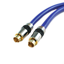 50Ft High Performance Mini Din 4pin S-Video SVideo Cable For TV/VCR/DVD/CABLE