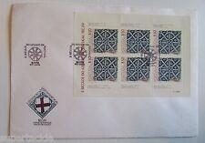 1981 Day of Issue FDC 5 Seculos do Azulejo em Portugal