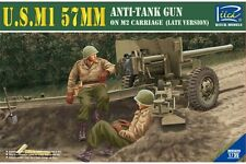 Riich RV35020 1/35 U.S. M1 57mm Anti-tank gun on M2 Carriage late version