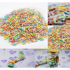 100X Message in a Bottle Capsule Letter Cute Love Friendship Half Color Pills HH