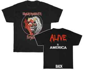 Iron Maiden Purgatory Alive In America T Shirt