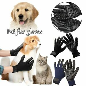 Pet Grooming Gloves For Cats, Dogs & Horses / Pair RE