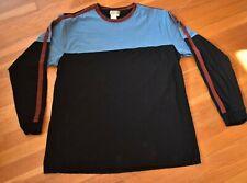 The Territory Ahead Men's Crewneck Pullover Shirt Xl 100% Cotton Blue Black Red