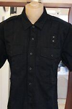 5.11 Tactical Series 71177 mens Button Ups/s shirt XL black 65polyester/35Cotton