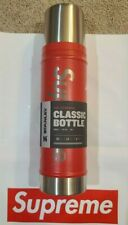 Supreme Stanley 20oz Vacuum Insulated Bottle Red Thermos SOLD OUT IN HAND NEW