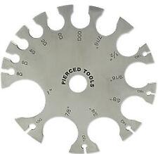 Body Jewelry WHEEL GAUGE - The Original Wheel Gauge From Painful Pleasures