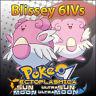Blissey 6IV ☀️ Shiny or not 🌙 Battle Ready 6IVs Pokemon Sun Moon Ultra SM USUM
