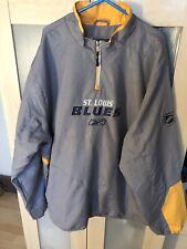vintage Reebok NHL ST.Louis blues jacket size XL