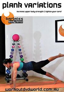 Toning, Body Sculpting EXERCISE DVD - Barlates Body Blitz - PLANK VARIATIONS!