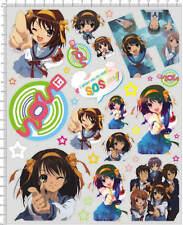 Self Adhesive Itasha Sticker anime girl for 1/10 1/12 model kits 20100