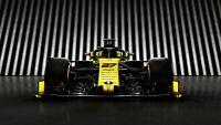 "Renault RS19 Formula 1 2019 Car Auto Art Silk Wall Poster Print 24x36"""
