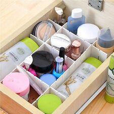 Plastic DIY Drawer Separator Divider Storage Organizer Grid
