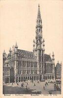 B106994 Belgium Brussel Rathaus Burxelles Hotel de Ville