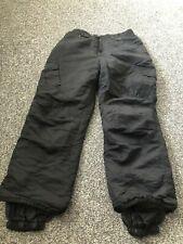 SUISSE SPORT black ski trousers Age 14 VGC