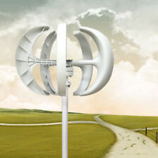 600w 24v Lantern Wind Turbine Generator Vertical Axis Energy Power Kit 5 Blades