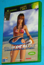 Dead or Alive - Xtreme Beach Volley - Microsoft XBOX - PAL