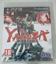 YAKUZA DEAD SOULS  ITALIANO COME NUOVO PS3 PLAYSTATION 3 CON MANUALE ITA