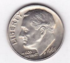 1965 Clad ROOSEVELT DIME in BRILLIANT UNCIRCULATED CONDITION stk r101