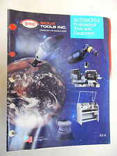 Vintage 93-A Sioux Automotive Professional Tools and Equipment Catalog Book