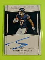 2018 National Treasures Anthony Miller RC 55/99 Auto Bears