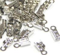 300 Endkappen Metall Kappen 6mm für Halskette Armbänder Schmuck DIY M19#3