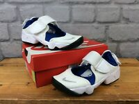 NIKE RIFT WHITE BLUE TRAINERS VARIOUS SIZES CHILDRENS GIRLS BOYS T